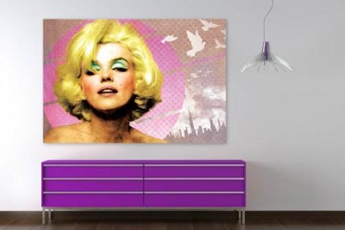 Tableau décoratif Marilyn Monroe par Dogan Oztel