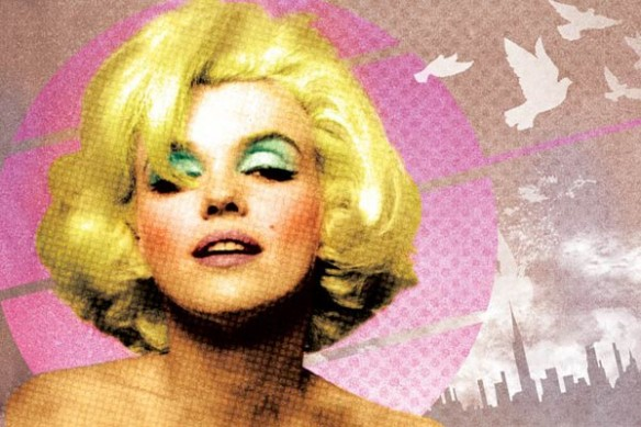 tableau pop art Marilyn Monroe