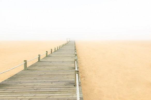 deco mur Bois et sable