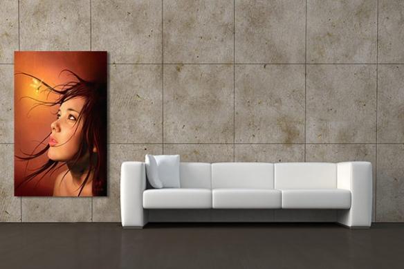 Tableau décoration mural Emerveillement