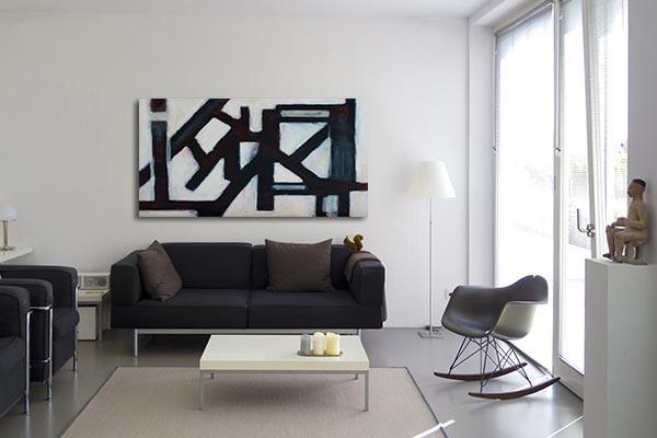 tableau contemporain dystopie izoa. Black Bedroom Furniture Sets. Home Design Ideas