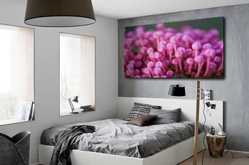 Tableau fleur vente de tableaux nature et fleurs pour - Tableau pour chambre adulte romantique ...