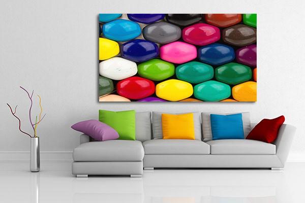 tableau original colorie izoa. Black Bedroom Furniture Sets. Home Design Ideas