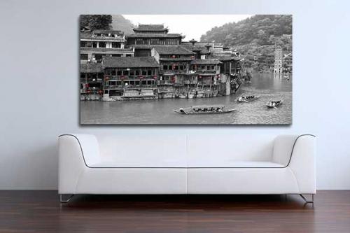 Déco murale village chinois