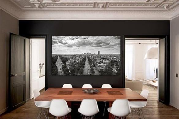 Tableau décoration Boulevard parisien