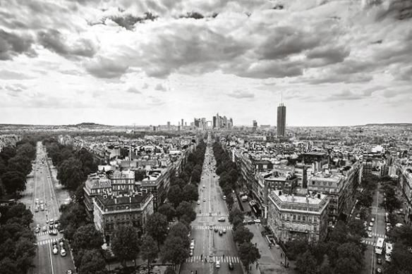 Papier Peint Déco Boulevard Parisien