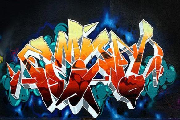 deco mural tag