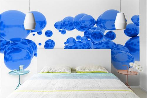 Papier peint abstrait antigravité
