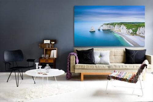 Tableau paysage Normandie