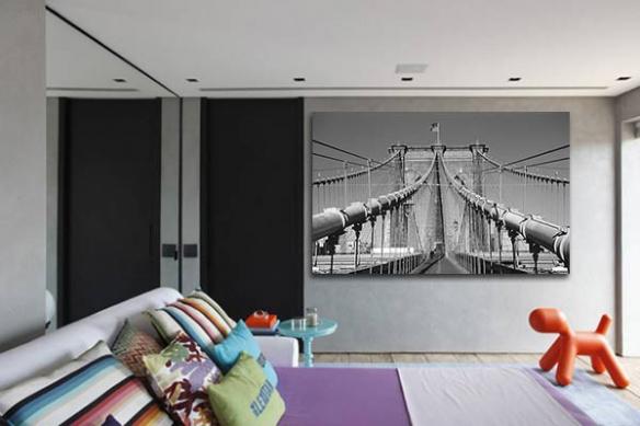 Tableau pont New York