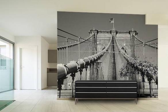 Papier peint photo Pont de New York