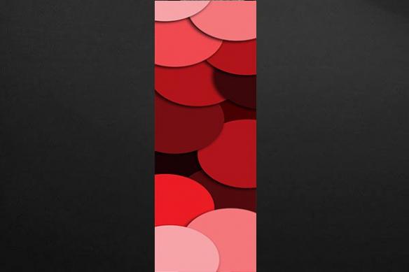 Papier peint zen Confettis