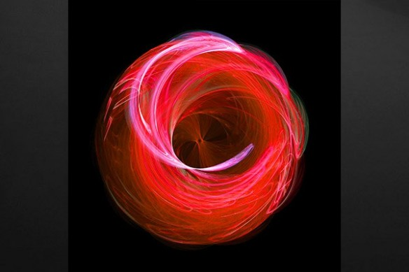 Toile  design spirale