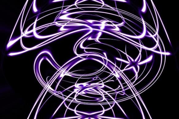 lumière peinture abstrait