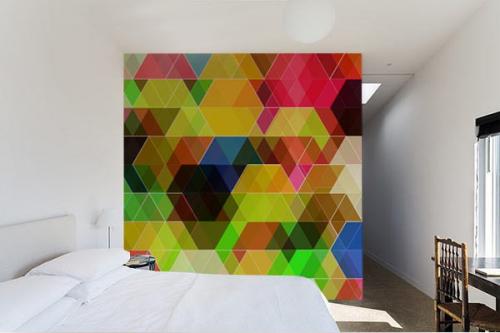 Papier peint design Geometrix