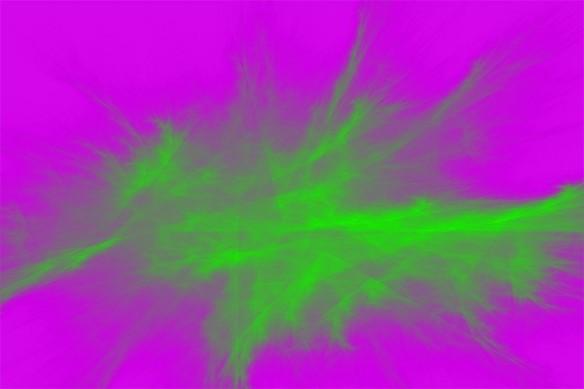 tableau-abstrait-nunataka-vert