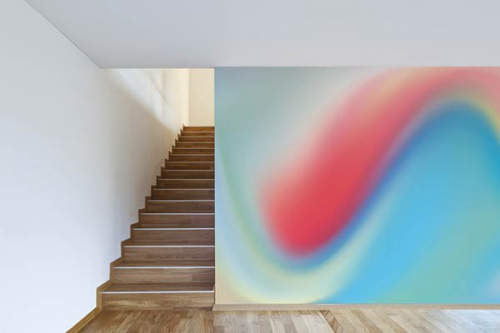 Papier peint déco Vague de couleurs