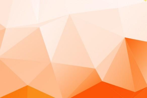 Tableau xxl abstrait relief orange