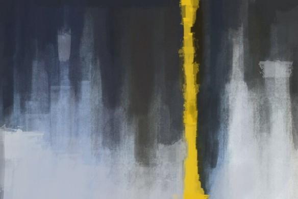 Tableau peinture grand format spectre