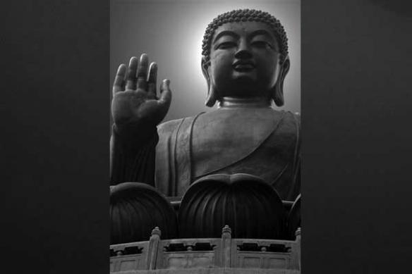 tableau Buddha zen Hong Kong