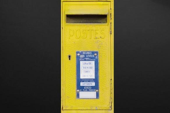 Sticker Porte Design La Poste