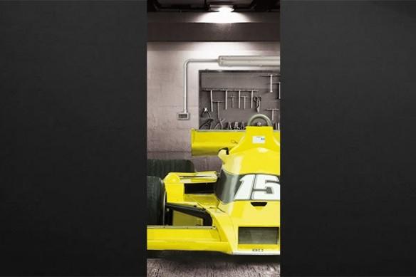 Sticker porte Formule 1 jaune