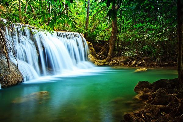 Tableau cascade izoa - Image de cascade ...