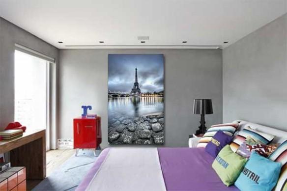 Tableau Moderne Quai de Seine