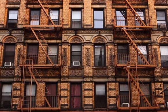 Papier peint façade New York