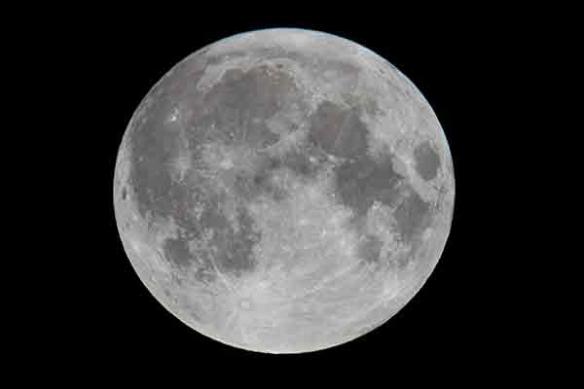 pleine lune poster xxl