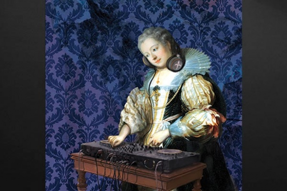 décoration murale baroque DJ Barok