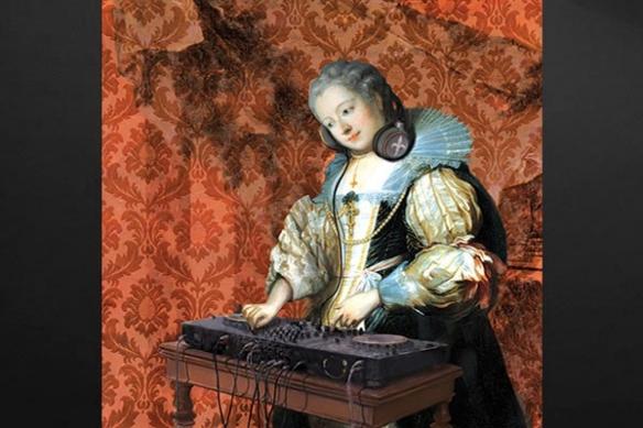 Tableau original DJ Barok
