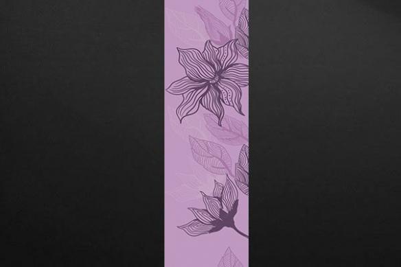 Papier peint zen fleur Bégonia rose
