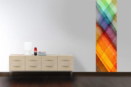 Papier peint salon design Arco iris