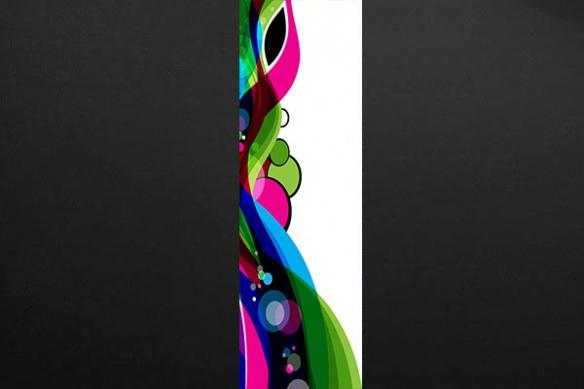 Papier peint design Oracle