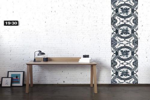Papier peint design Terre Cuite