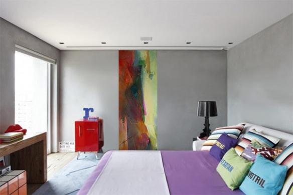 Papier peint chambre mur Zibeline