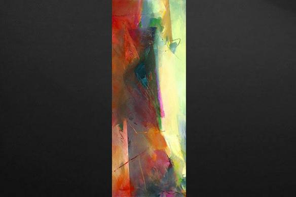 Papier peint mural abstrait Zibeline