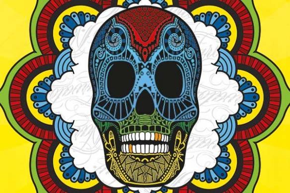 deco tete de mort mexicaine