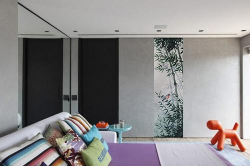 Papier peint chambre zen Compagnon du jardinier