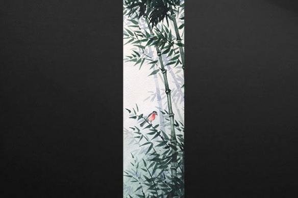 Papier peint mur Compagnon du jardinier