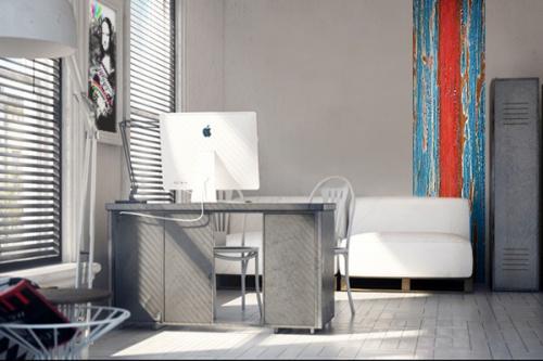 papier peint bleu izoa. Black Bedroom Furniture Sets. Home Design Ideas