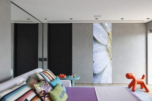 tapisserie chambre Pistile