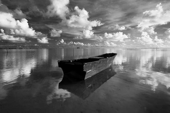 Tableau paysage déco Embarcation