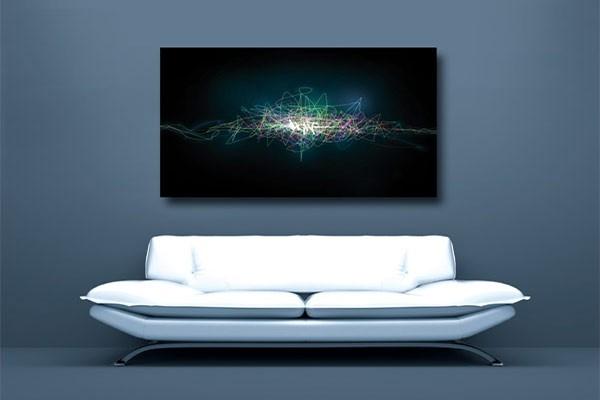 tableau abstrait light par yann wallaert izoa. Black Bedroom Furniture Sets. Home Design Ideas