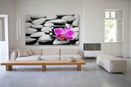 Tableau zen flower