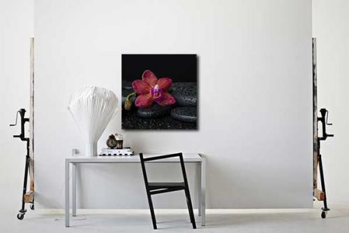 Tableau fleur Mahora