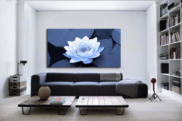 Tableau Zen Lotus Nenuphare