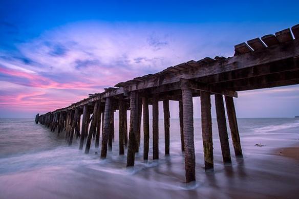 Tableau moderne paysage plage