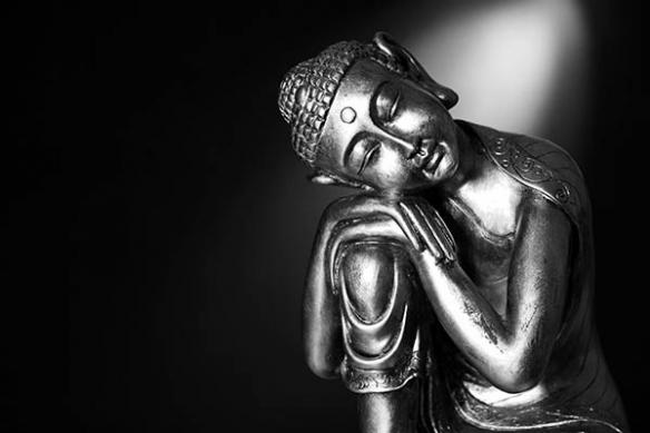 Tableau déco zen pause méditation